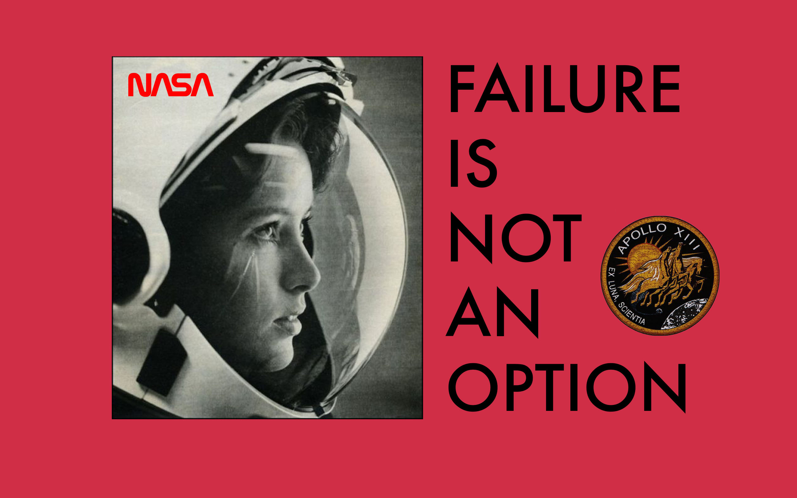 NASA- failure is not an option woman astronaut