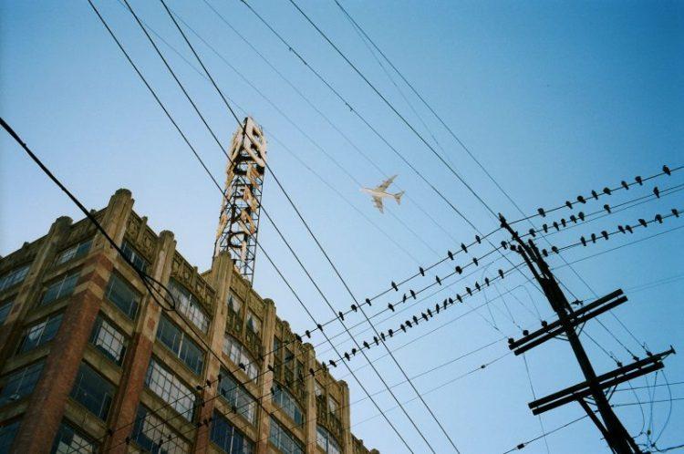 eric kim color chroma airplane downtown la poles