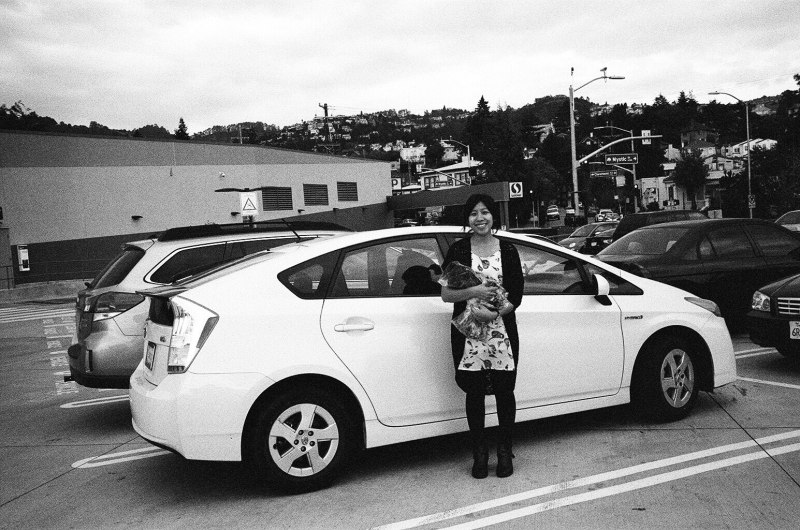 eric kim photography groceries toyota prius berkeley
