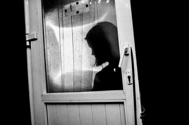 eric kim street photography black and white hanoi door