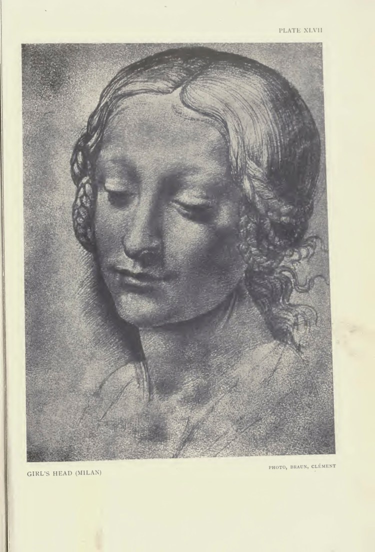 leonardo sweet woman face