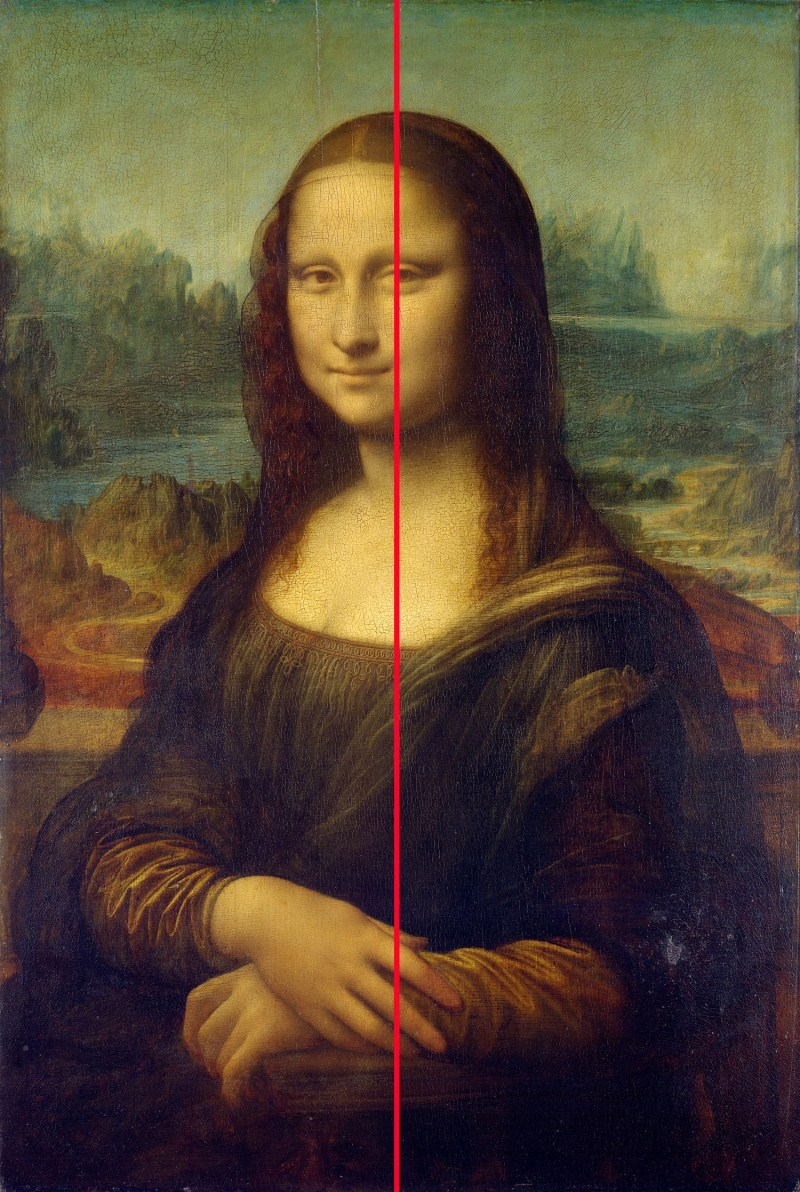 mona lisa composition 2