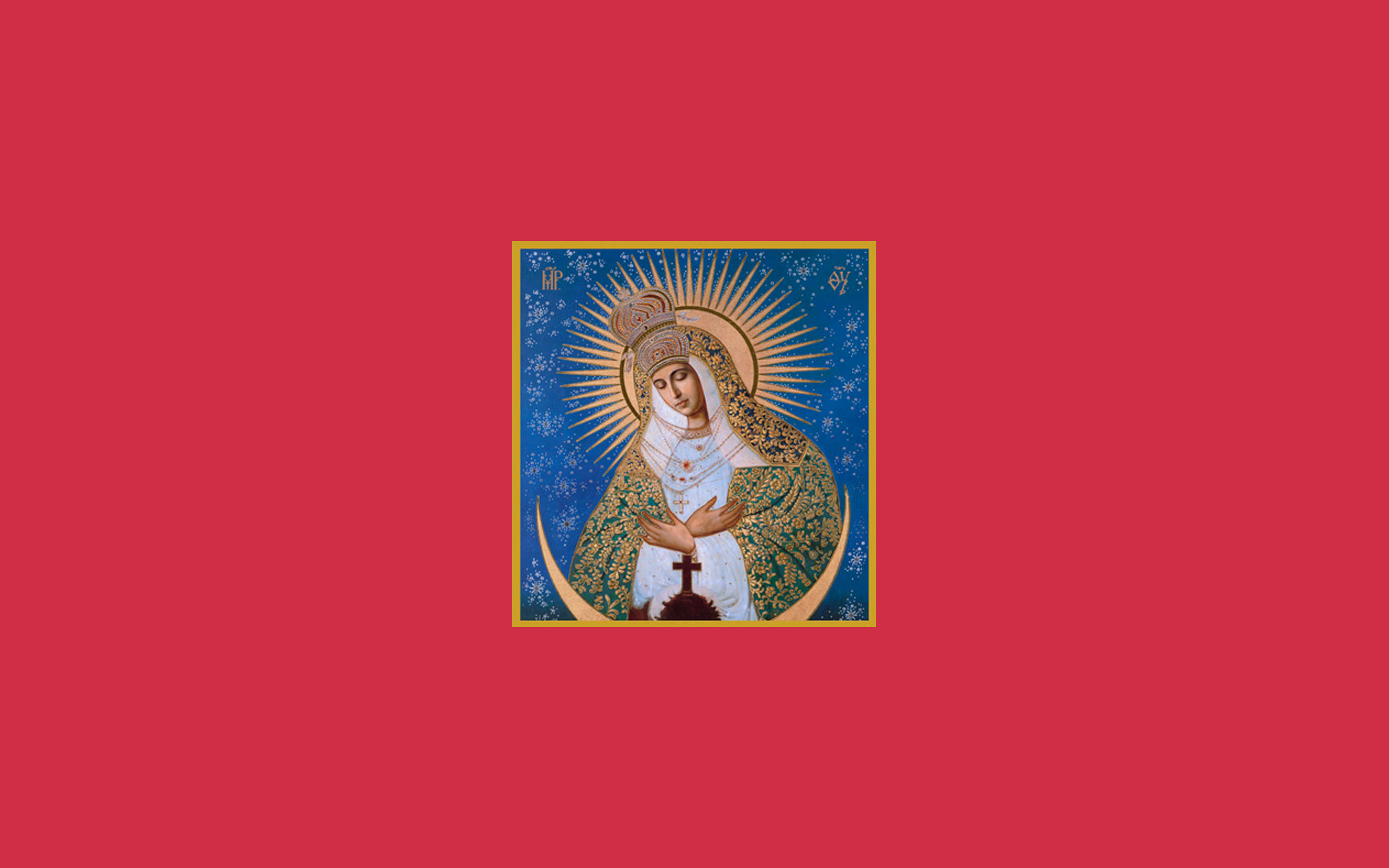 our lady of the gate of dawn-4 mother mary wallpaper