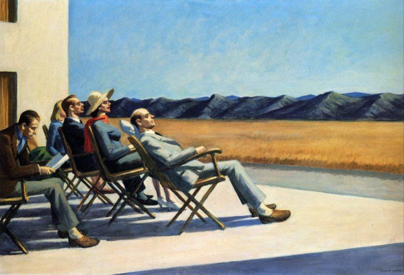 People in the Sun - Edward Hopper