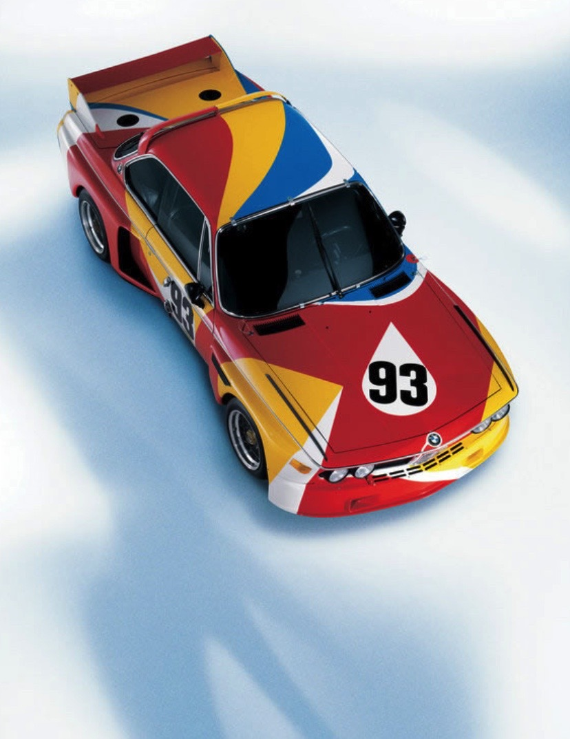 ALEXANDER CALDER BMW ART CAReric kim screenshot_861