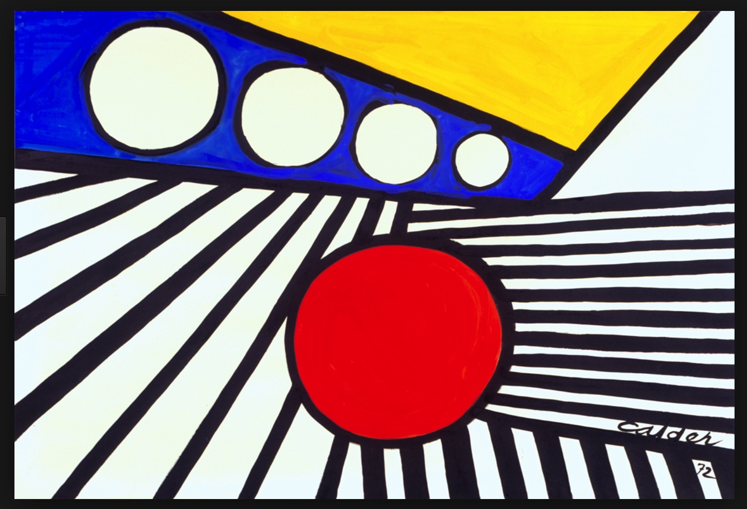 ALEXANDER CALDER BMW ART CAReric kim screenshot_870