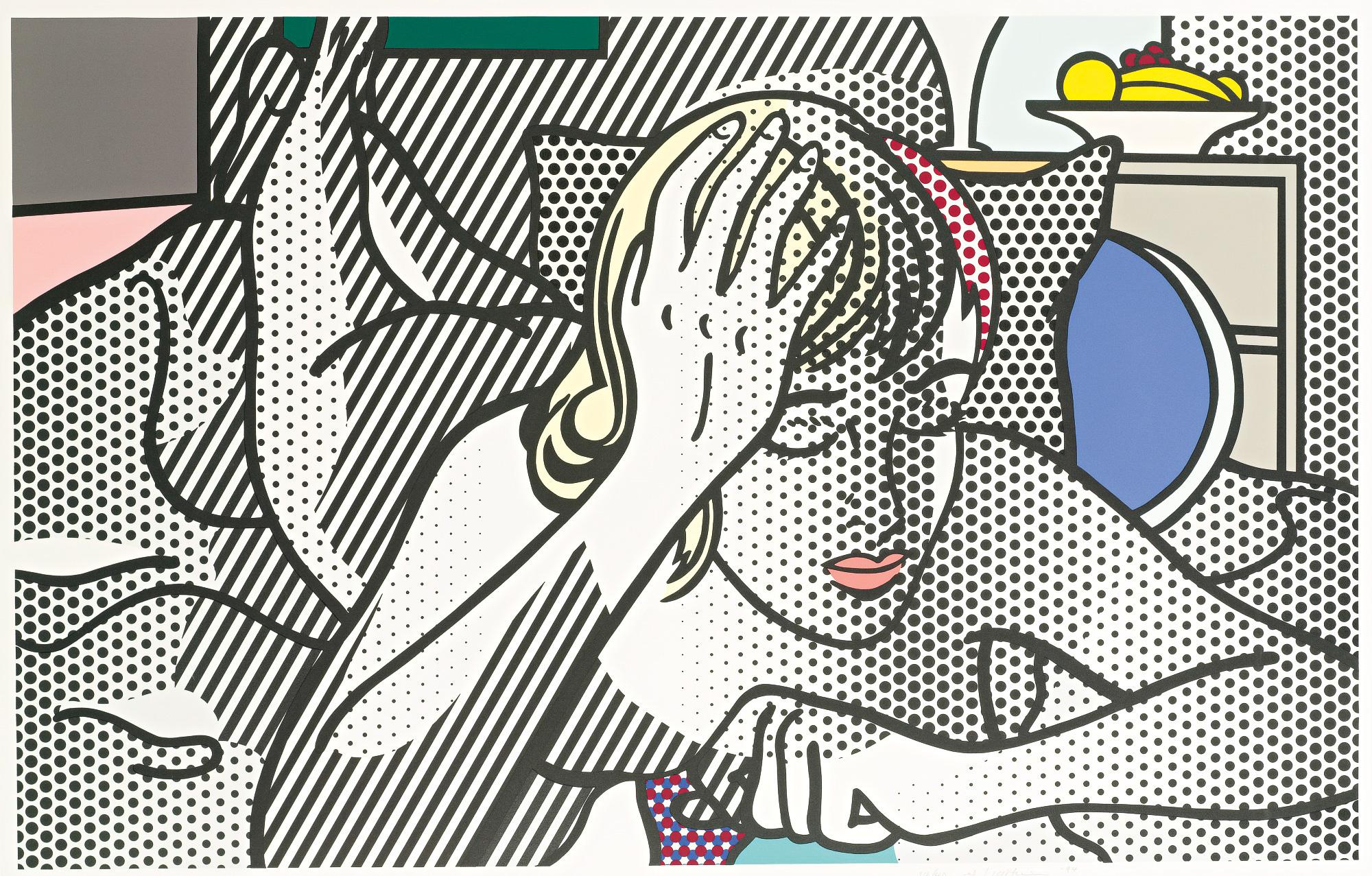 Roy Lichtenstein art 25