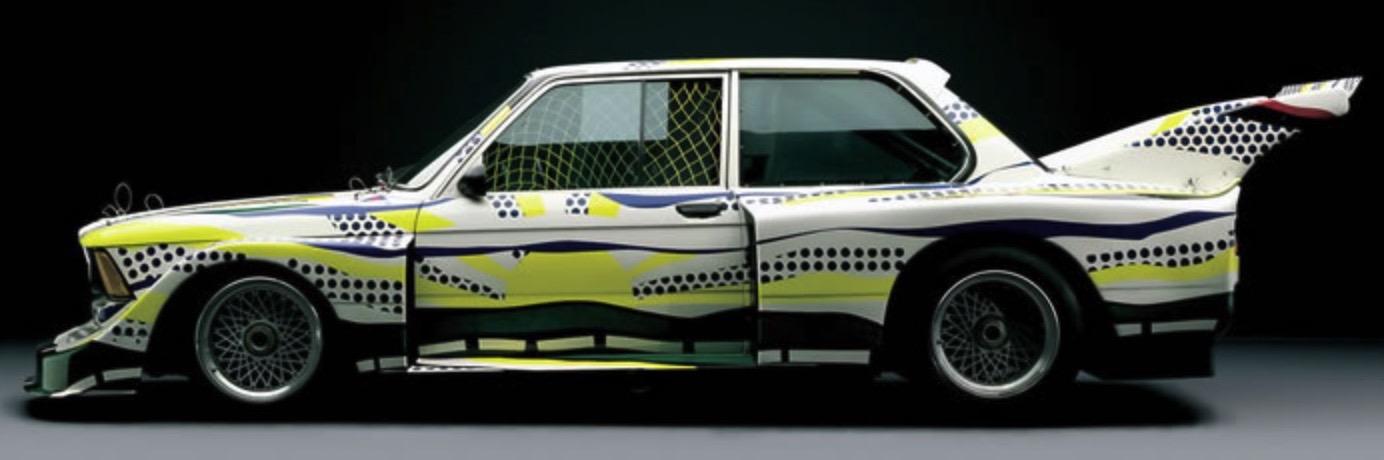 Roy Lichtenstein bmw art car10