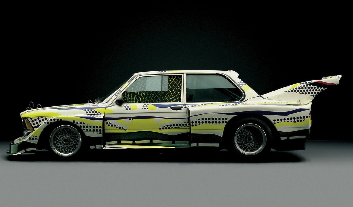 Roy Lichtenstein bmw art car3