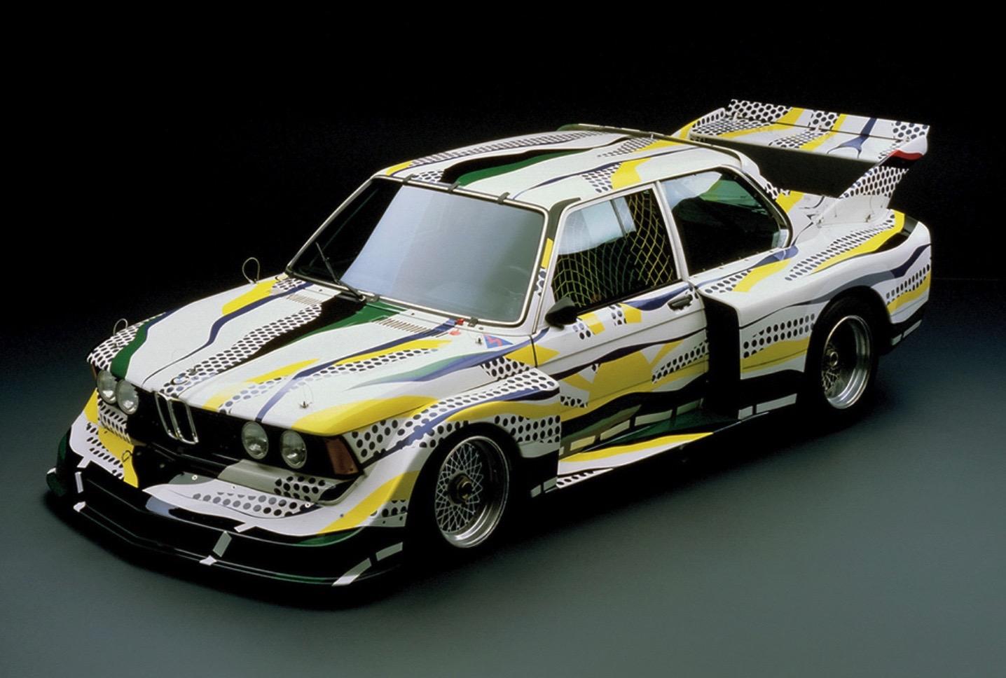 Roy Lichtenstein bmw art car4