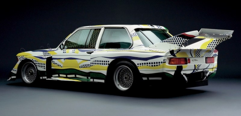 Roy Lichtenstein bmw art car5