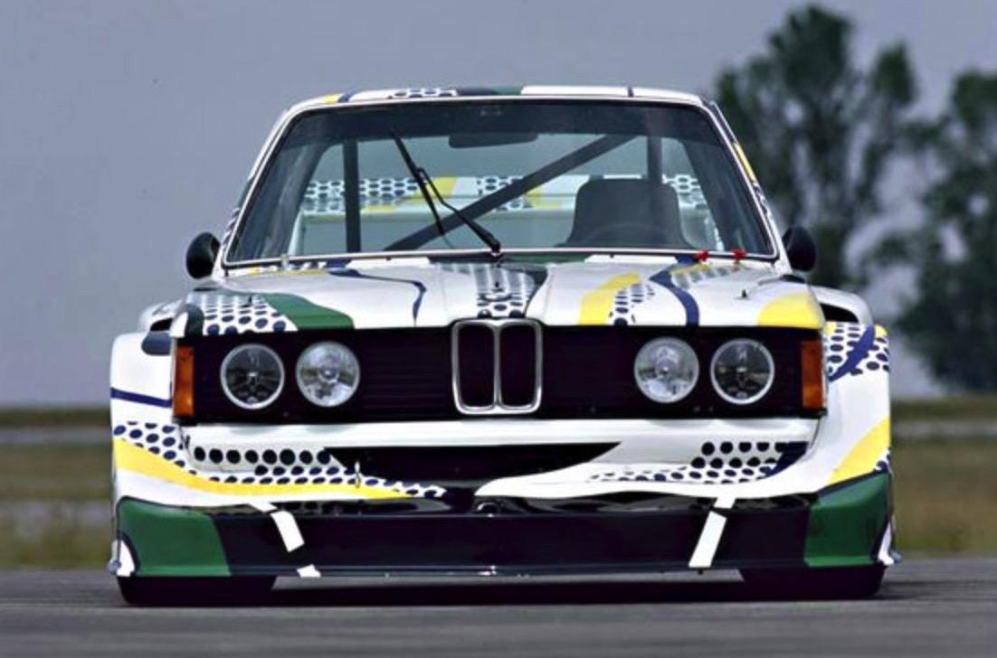 Roy Lichtenstein bmw art car6