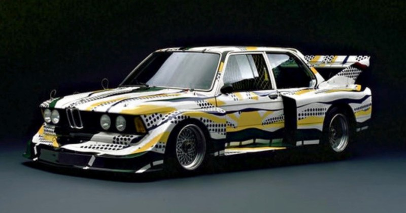 Roy Lichtenstein bmw art car8