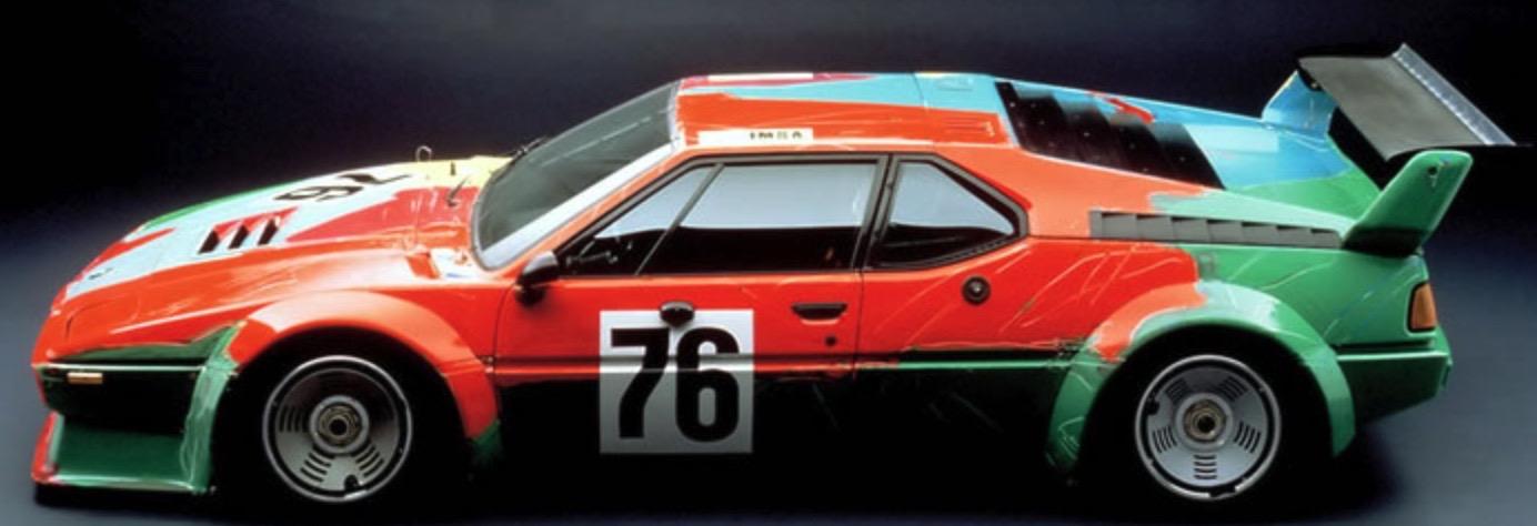 andy warhol bmw art car8