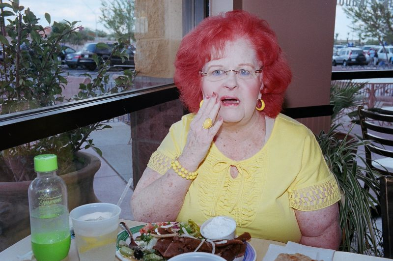 eric kim street photography only in america2 flash red hair