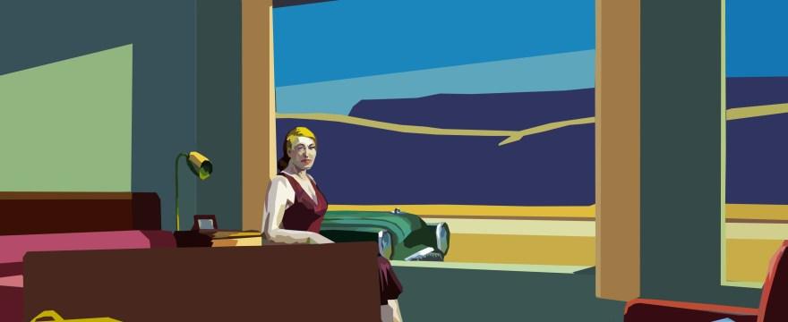 Edward Hopper x Eric Kim