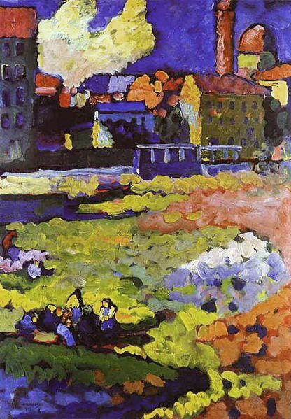 Vassily_Kandinsky,_1908_-_Munich-Schwabing_with_the_Church_of_St-Ursula