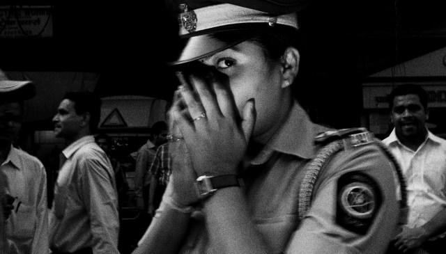 Whisper. Woman cop in Mumbai, 2011