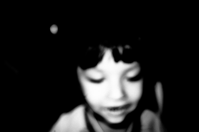 Blurry kid. Saigon, 2017