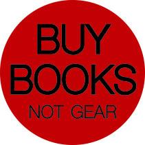 buy books not gear