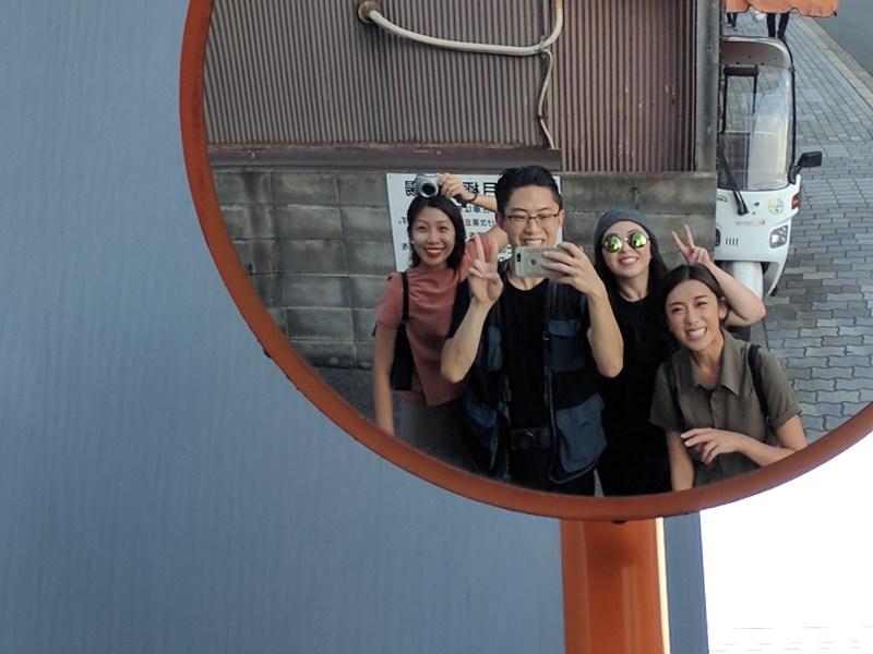 Family selfie. Kyoto, 2017