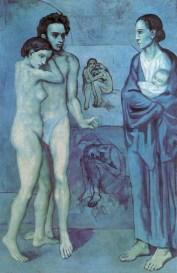 Picasso. Azul period.