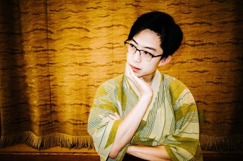 Portrait of ERIC in Yukata by Cindy.