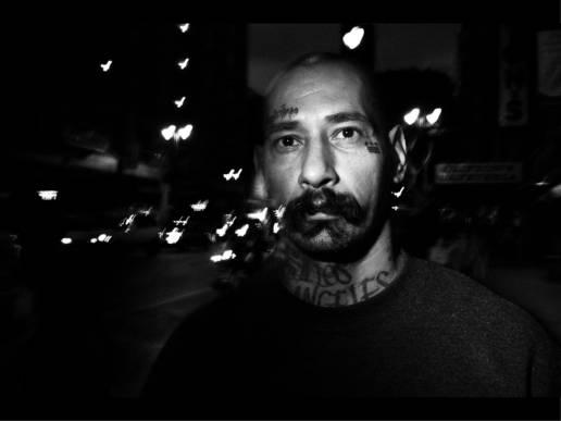 Heart tattoo. Downtown La, 2011