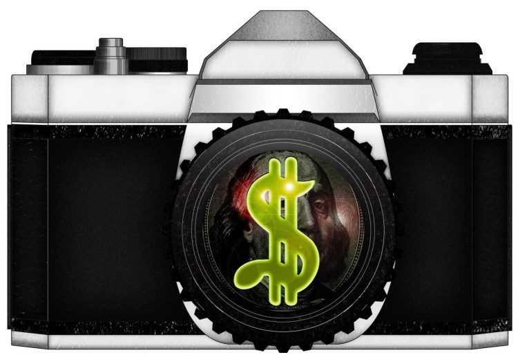 CAMERA MONEY USD by ANNETTE KIM