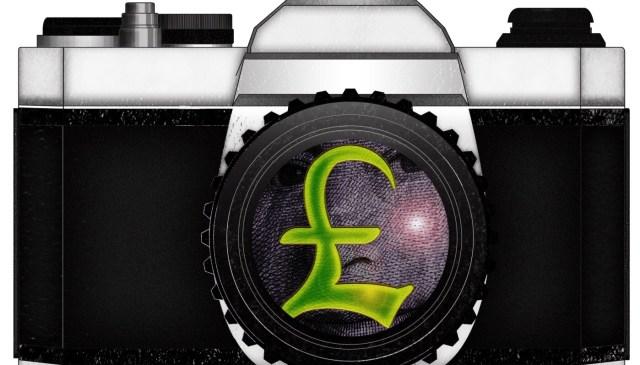 CAMERA MONEY GBP by ANNETTE KIM