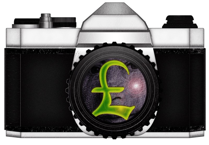 CAMERA MONEY GBP by ANNETTE KIM