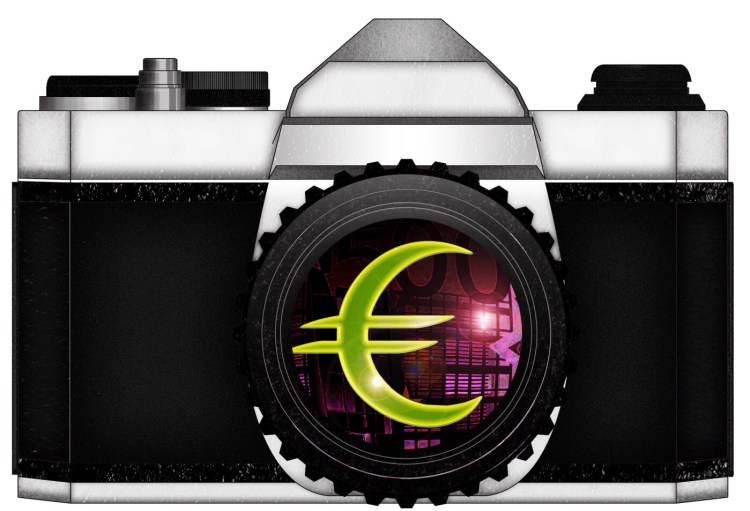 EURO CAMERA MONEY by ANNETTE KIM