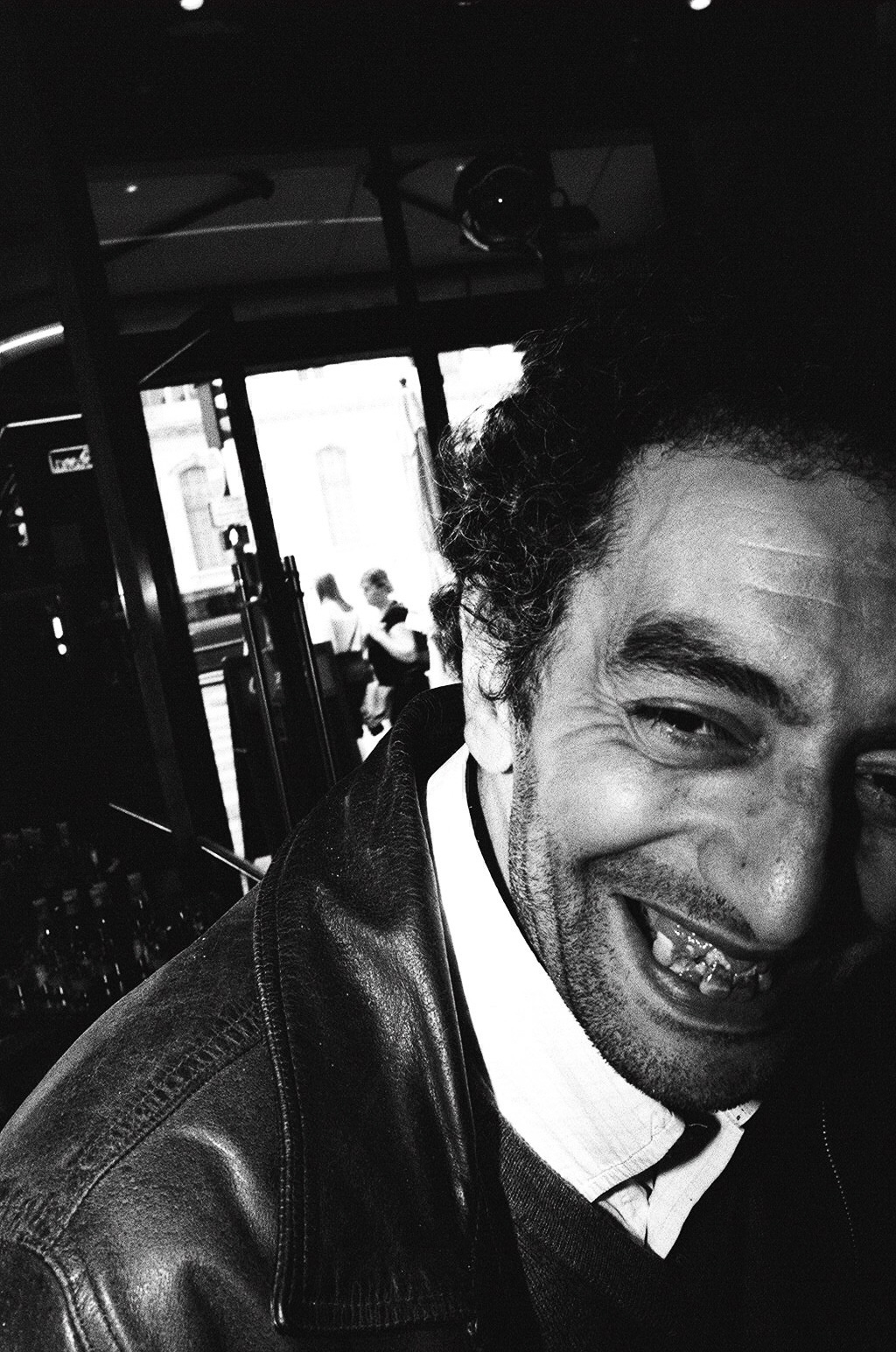 Laughing man in Paris. 2015.