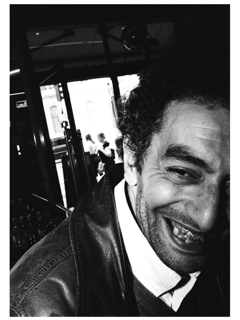 Laughing Paris man, 2015