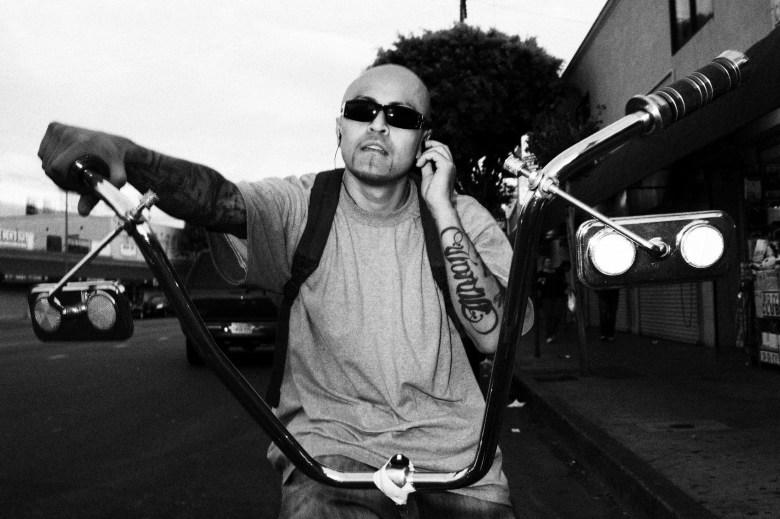 Lowrider. Downtown LA, 2011
