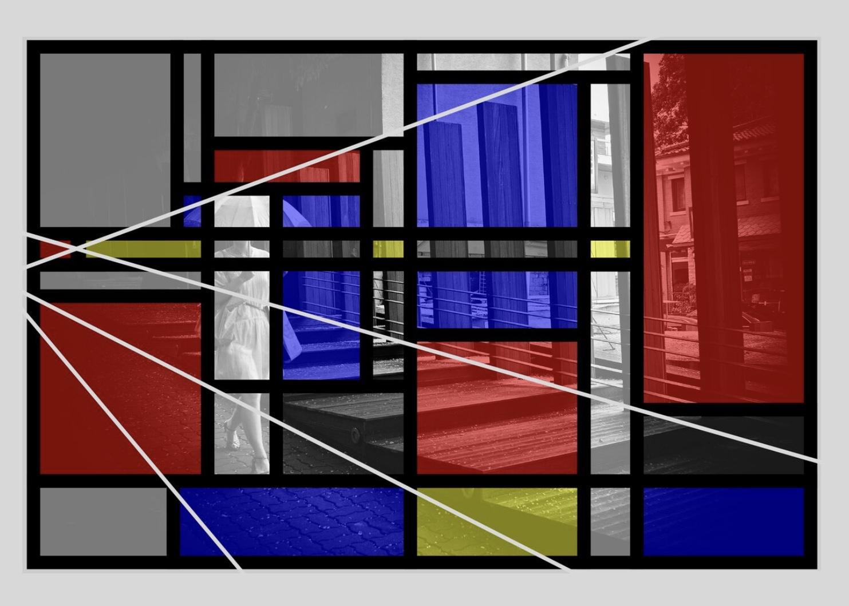 Eric Kim photography Bauhaus Piet Mondrian