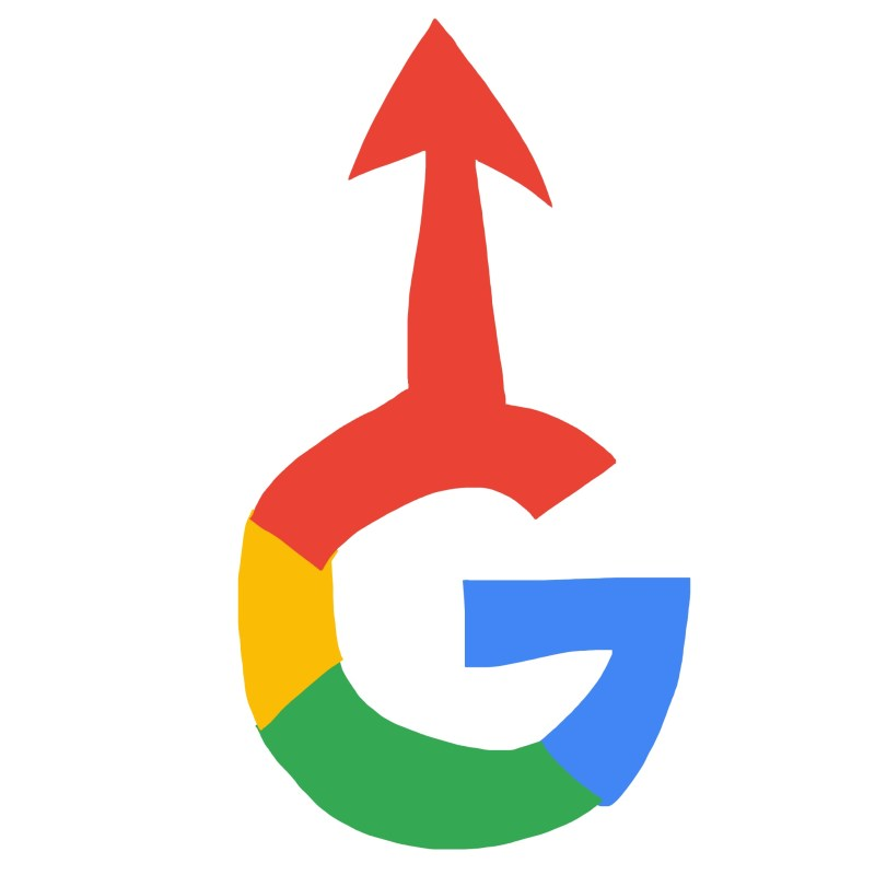 Google SEO UP ARROW