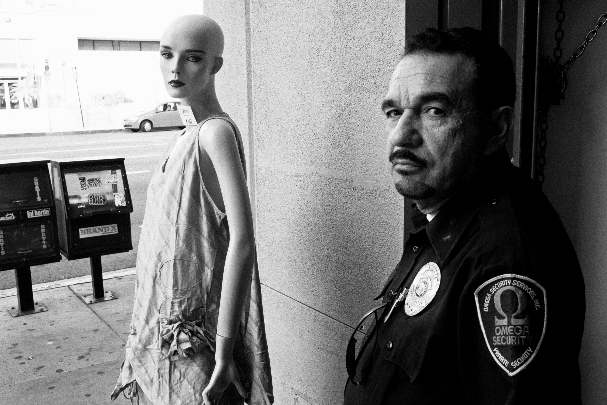 The city of Angels. Eric Kim Black and White street photography. Los Angeles.