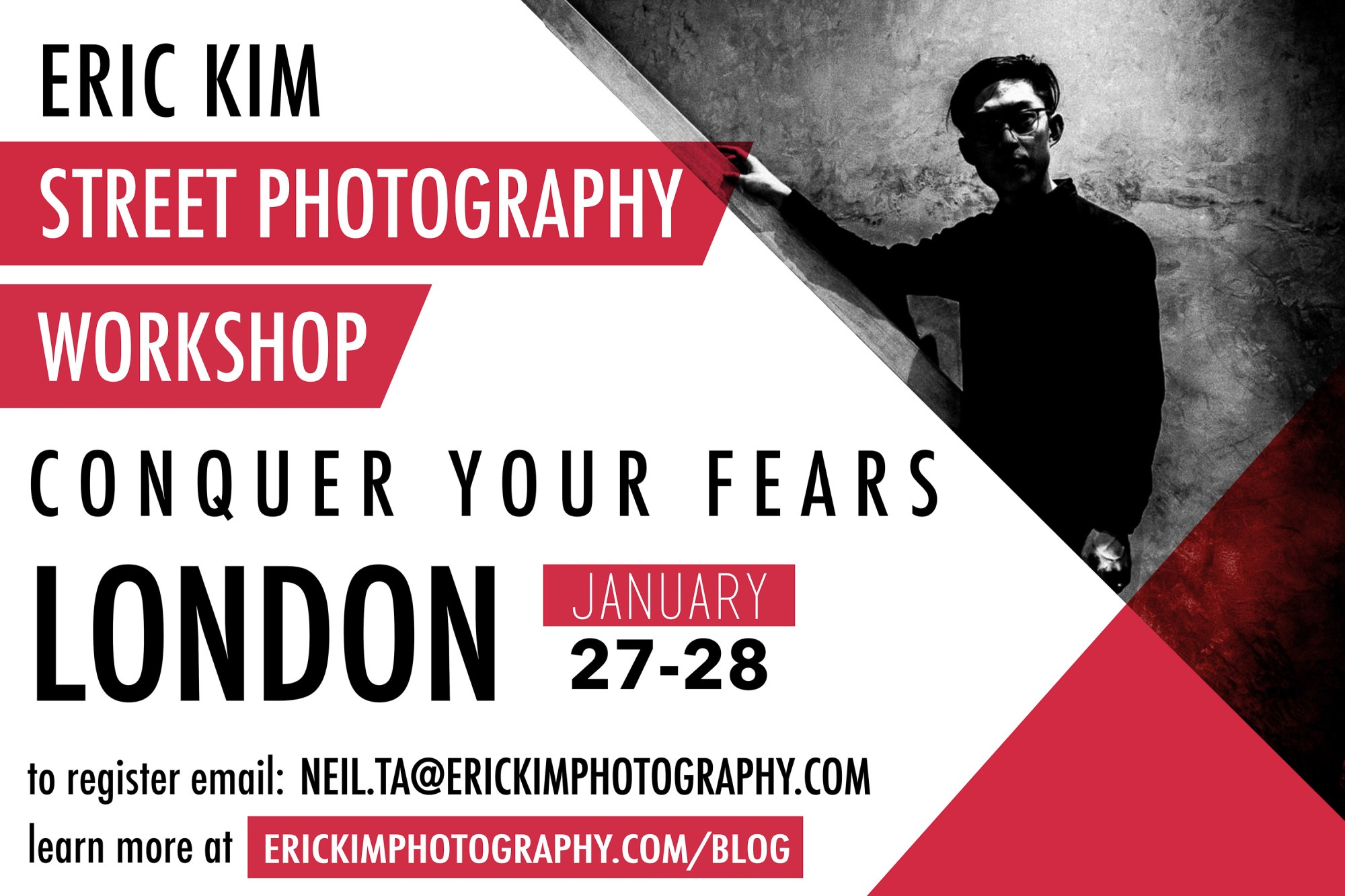 Conquer your fears in street photogrsphy London Workshop