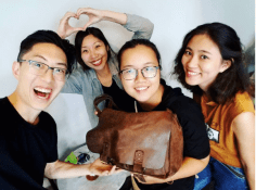 Lan and Uyen Vietnamese artists and artisans