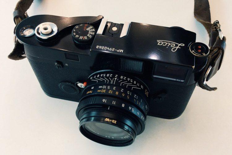 Film LEICA MP camera