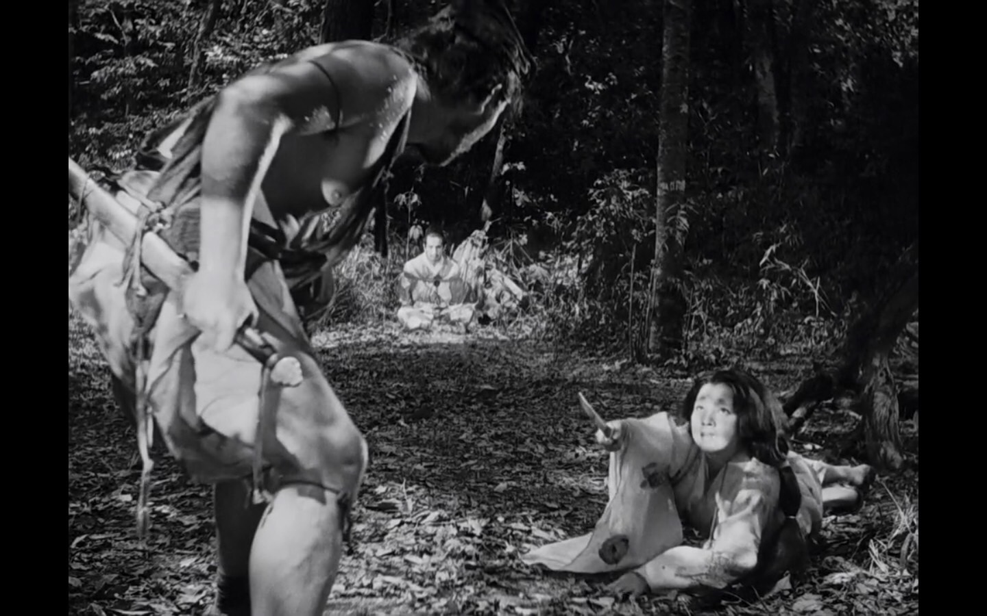 Kurosawa Rashomon triangle composition