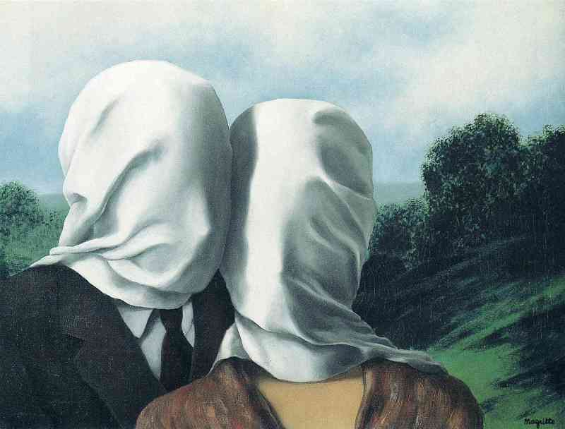 The lovers, 1928, Rene Magritte