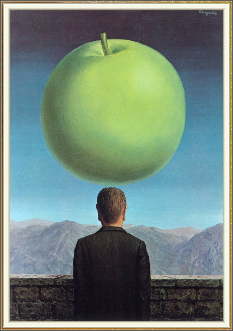 1960, The Postcard. Rene Magritte