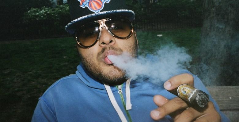 Eric Rivera with cigar