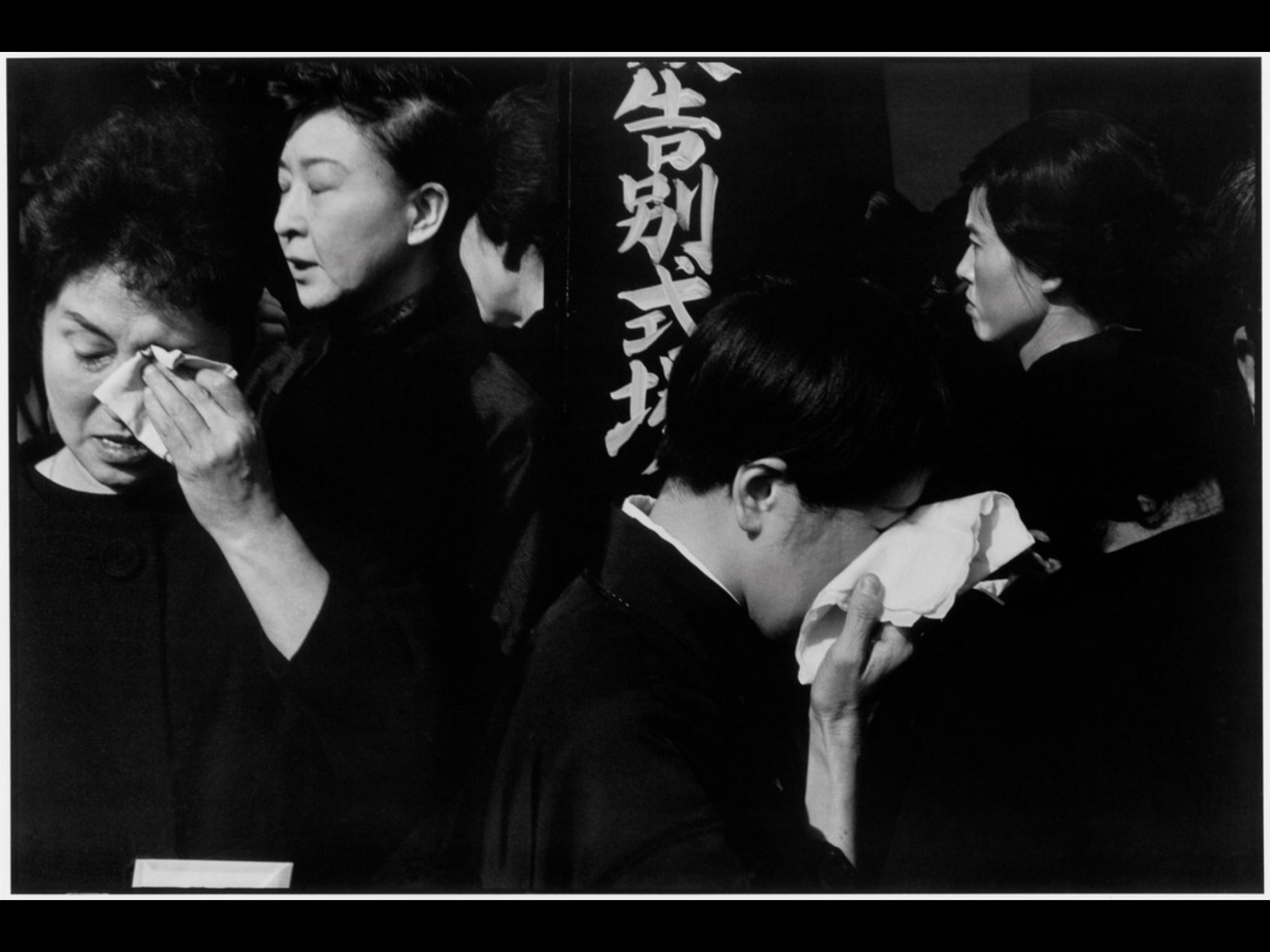 Funeral in Japan by Henri Cartier Bresson
