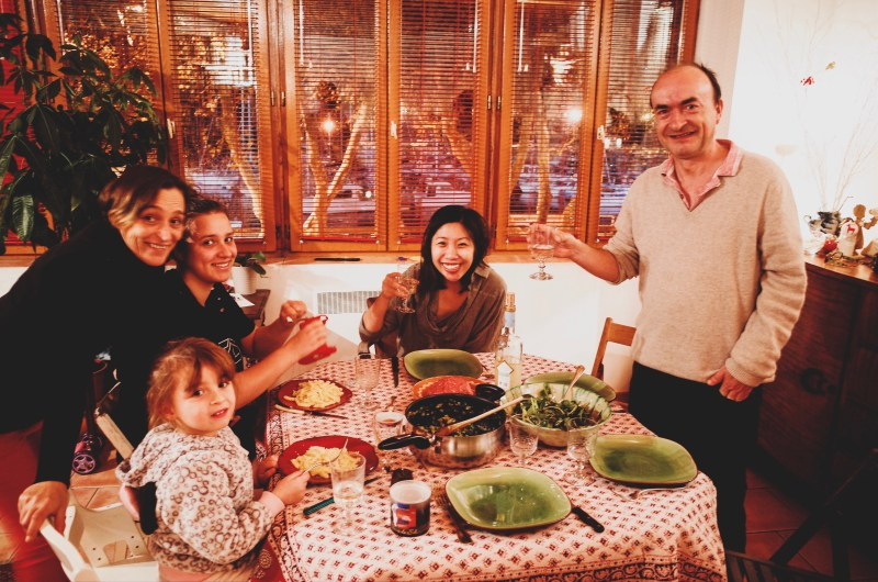 Family dinner with Yves in Marseille, 2017 #cindyproject #everydayphotography