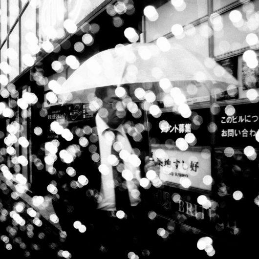 Dark Skies Over Tokyo Street Photography by ERIC KIM
