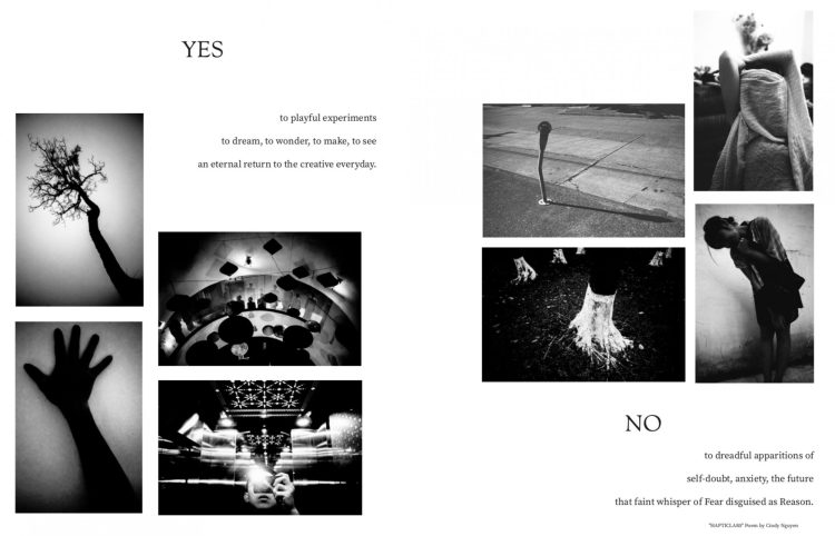 Spread from MODERN PHOTOGRAPHER // yes to creative experiments