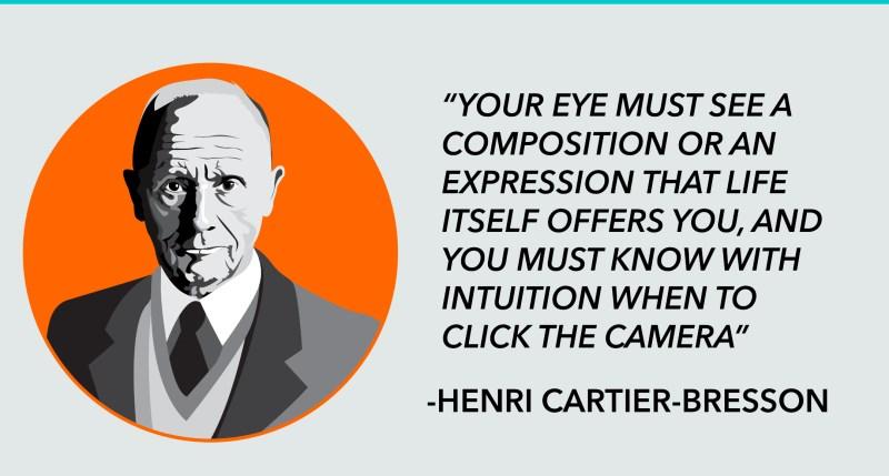 Henri Cartier Bresson on the decisive moment
